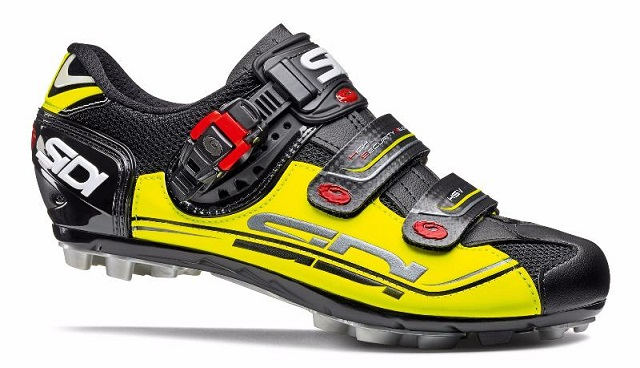 Велотуфли МТБ Sidi Eagle 7 Black/Yellow/Black. Распродажа!!!