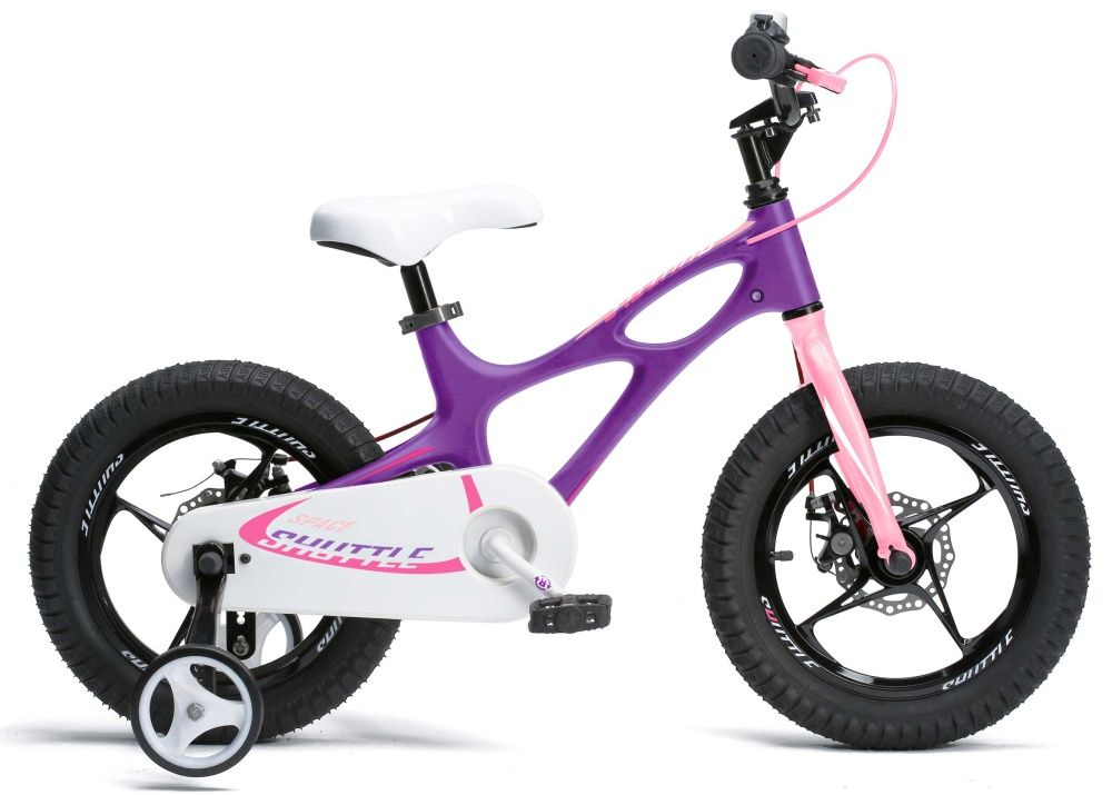 "Велосипед BabyK SuperSpace 16"", черный"