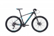 "Велосипед 27,5"" CTM Caliber 2.0 matt black blue 2018"