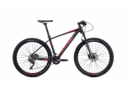 "Велосипед 27,5"" CTM Caliber 2.0 matt black red 2018"