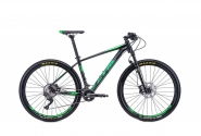 "Велосипед 27,5"" CTM Caliber 3.0 black green 2018"