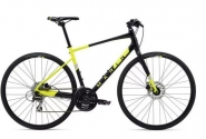 "Велосипед 28"" Marin Fairfax 2 рама - S, М, XL 2020 Satin Black/Gloss Hi-Vis Yellow/ Silver"
