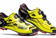 Велотуфли МТБ Sidi Tiger Carbon SRS Bright Yellow. Распродажа!!!