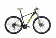 "Велосипед 29"" CTM Rambler 1.0 matt black yellow 2018"