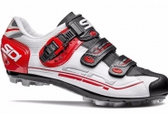 Велотуфли МТБ Sidi Eagle 7 White/Black/Red. Распродажа!!!