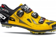 Велотуфли МТБ Sidi Dragon4 SRS CC Lucido Yellow/Black. Распродажа!!!