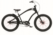 "Велосипед 24"" Electra Straight 8 3i Alloy disc satin Black"