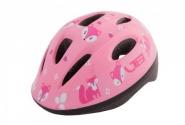 Шлем детский Green Cycle Foxy размер 50-54см розовый\малиновый\белый лак
