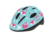 Шлем детский Green Cycle Foxy мятный/малиновый/розовый лак