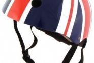 Шлем детский Kiddimoto британский флаг