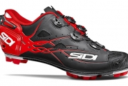 Велотуфли МТБ Sidi Tiger Carbon SRS Matt Black/Red - Акция!